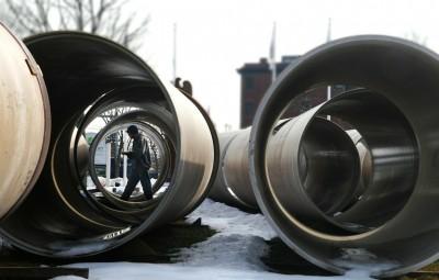 sewer drainage work