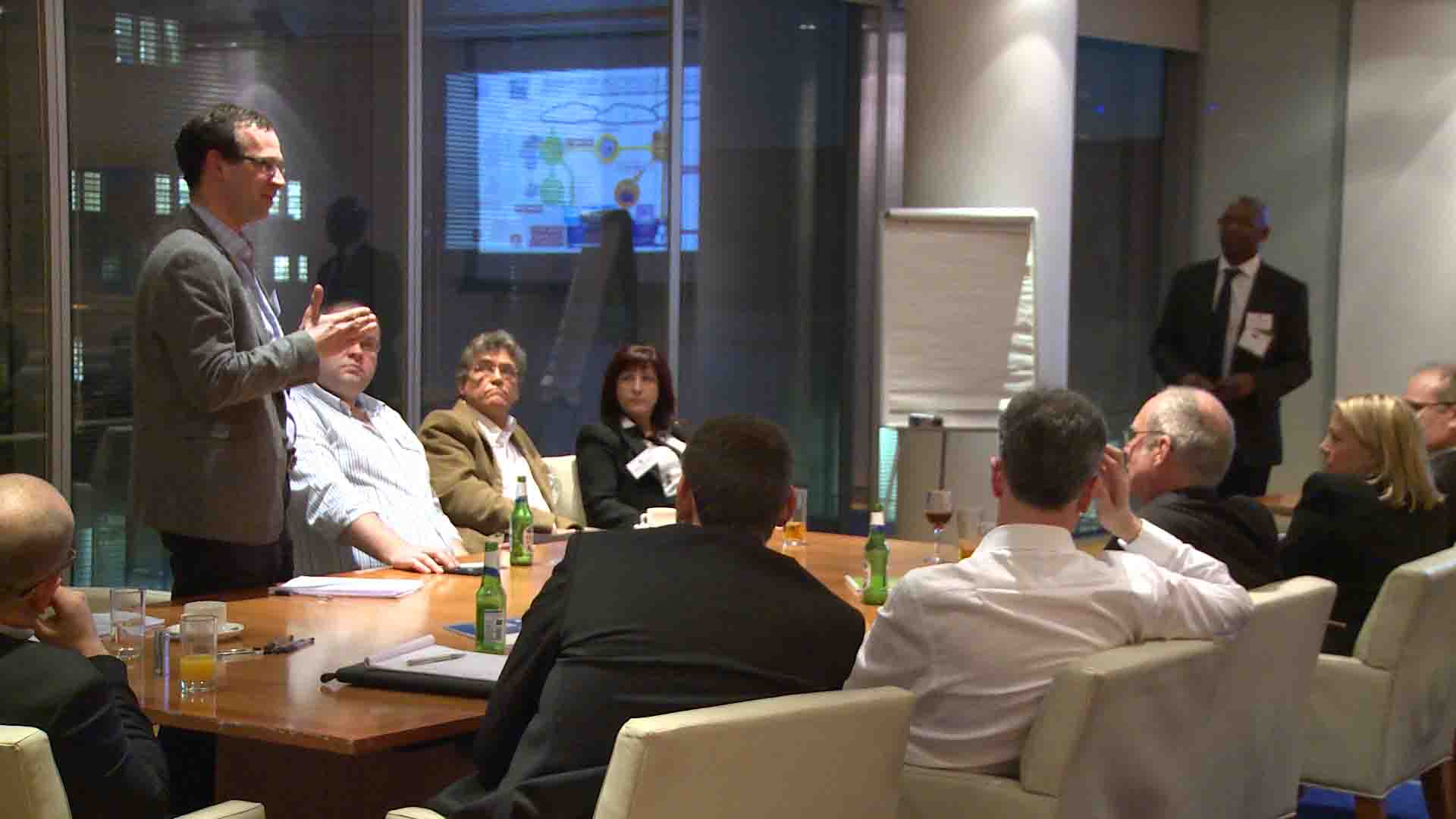 Business Leaders Learn Ways to Generate Rates Savings