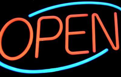 pop-up shops open