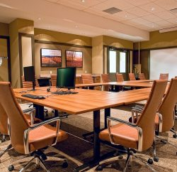 shared workspace v boardroom