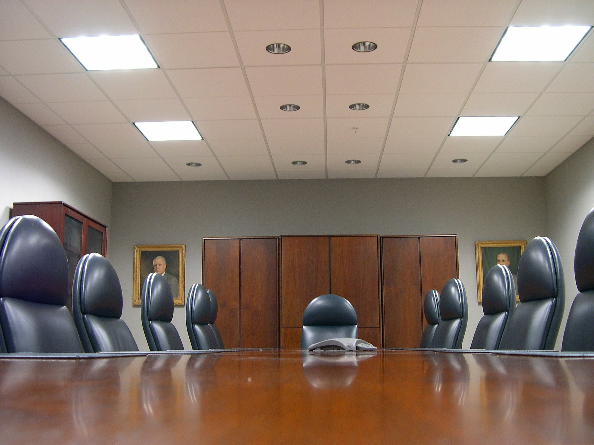 Will Shared Workspace Mean the Death of the Boardroom?