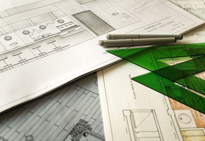 architects technical drawing